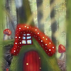 At Home in the Forest by Angela Davies