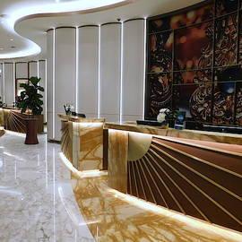 ATLANTIC CITY Series - Hard Rock Hotel Lobby by Arlane Crump