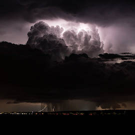 Atomic Thunderstorm by Cathy Franklin