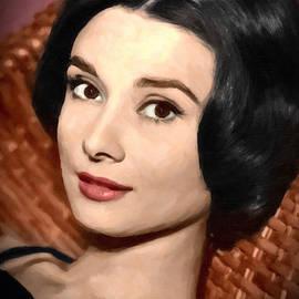 Audrey Hepburn - DWP1263115 by Dean Wittle
