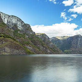 Aurlandsfjord, Norway by Andreas Levi