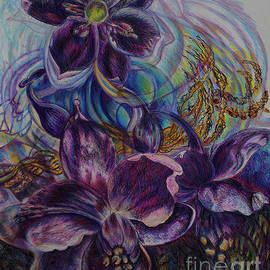 Australian BlueBell Fantasy by Helen Duley