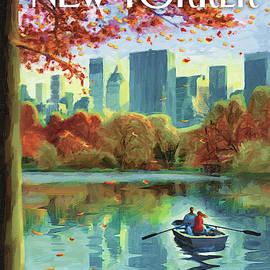 Autumn Central Park by Eric Drooker
