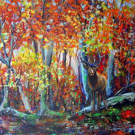 Autumn In The Forest by Vesna Martinjak