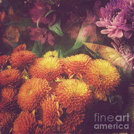 Autumn is Coming - Beautiful Flowers of Fall by Miriam Danar