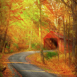 Mike Savad - Autumn - Just past the bend