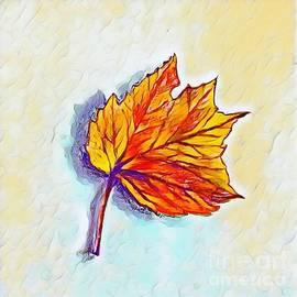 Autumn Leaf by Lavender Liu