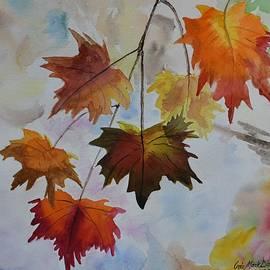 Autumn Leaves - #2 by Iris Dayoub