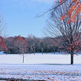 Autumn Meets Winter by Kim Hojnacki