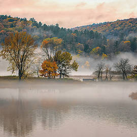 Autumn Morning Fog by Tom Singleton