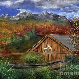 Autumn Mountains by Mia Hansen