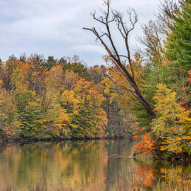 Autumn On The Oswego River by Rod Best