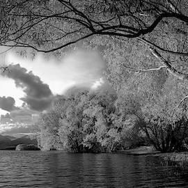 Autumn Shoreline by KaFra Art