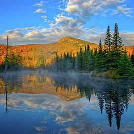 Autumn Sky, Mountain Pond by Jeff Sinon