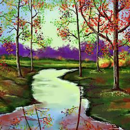 Autumn Stream by Tim Wayland