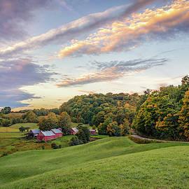 Autumn Sunrise At Jenne Farm by Kristen Wilkinson
