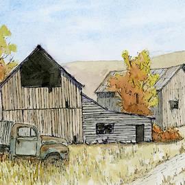 Autumn Vintage Farm by David King