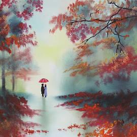 Autumn woodland walk by Gordon Bruce