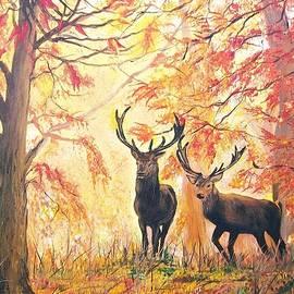 Autumn's Glow by Sharon Duguay