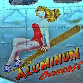 Allen Beatty - B - 17 Aluminum Overcast Pin-Up