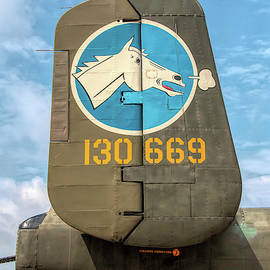 B-25 Mitchell Tail Art by Kristia Adams