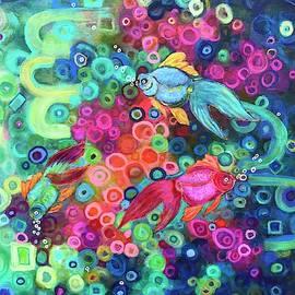 Baby Goldfish by Doris Chou