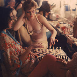 Backstage At The Latin Quarter by Gordon Parks
