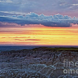 Badlands Sunset, South Dakota by Catherine Sherman