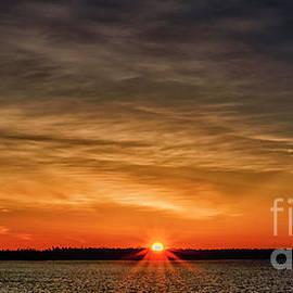 Baileys Harbor Sunrise by Thomas R Fletcher