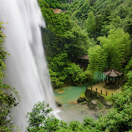 Baiyun Waterfall by William Dickman