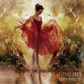 Ballet girl 8834J by Gull G