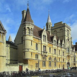 Balliol College, Oxford University, England by Lyuba Filatova