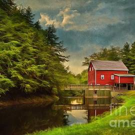 Balmoral Grist Mill by Eva Lechner