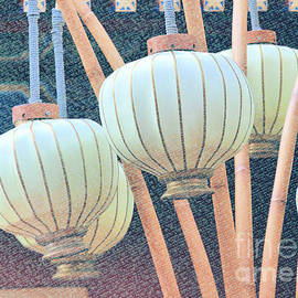 Bamboo Lanterns by Diann Fisher