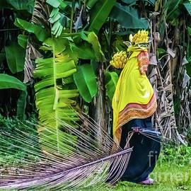 Banana Harvest, Zanzibar, Tanzania by Lyl Dil Creations