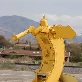 Banana Robot Near Salton Sea by Colleen Cornelius