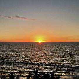 Banderas Bay Sunset by Lary Peterson