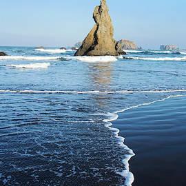 Bandon Beach Oregon 81719 by Rospotte Photography