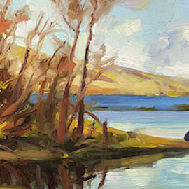 Banking on the Columbia by Steve Henderson
