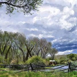 Bannack Montana Spring by Susan Kinney