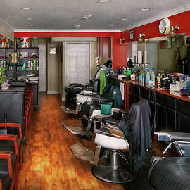 Barber - Fit To Be Dyed by Mike Savad