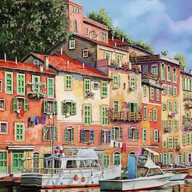 Guido Borelli - barche al porto