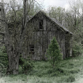 Barn in the Woods by Scott Kingery