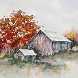 Barn on Hwy. 49 by Carolyn Rosenberger