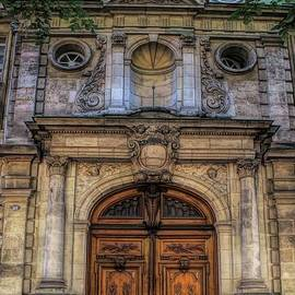 Basilica of Saint Michael  Doorway - Bordeaux by Luther Fine Art