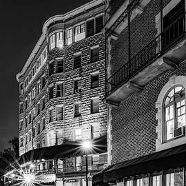 Basin Park Hotel In Downtown Eureka Springs Arkansas - Monochrome by Gregory Ballos