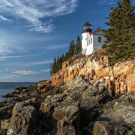 Bass Harbor Afternoon by Karin Pinkham