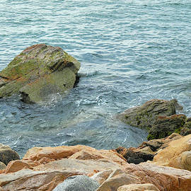 Bass Harbor Cliffs At Acadia by Lynda Lehmann