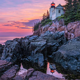 Expressive Landscapes Fine Art Photography by Thom - Bass head Lighthouse - Acadia