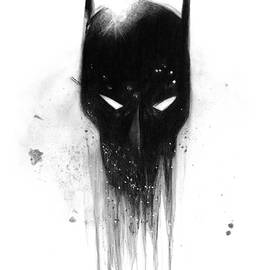 James Schultz - Batman Drawing